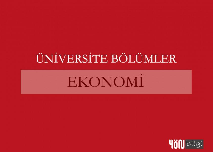 Ekonomi Bölümü Hakkında